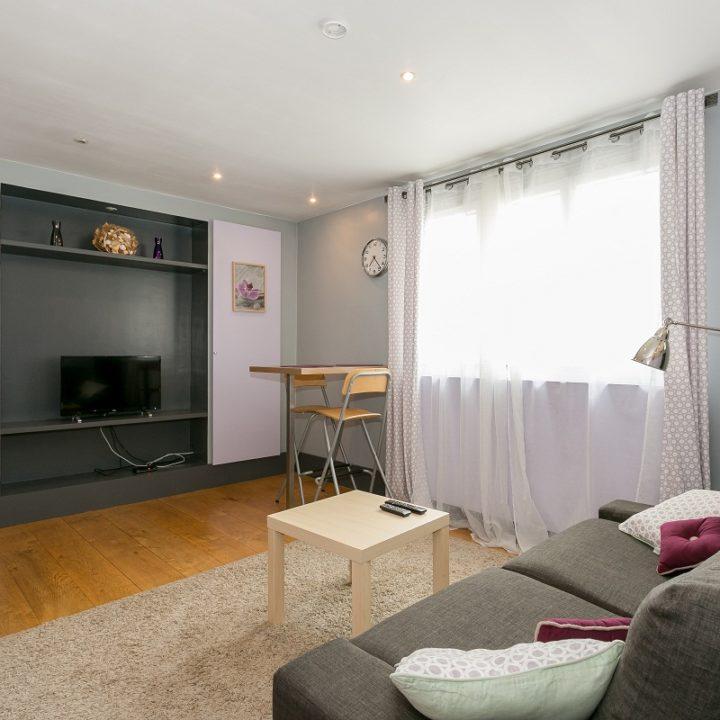 Furnished apartment near Paris