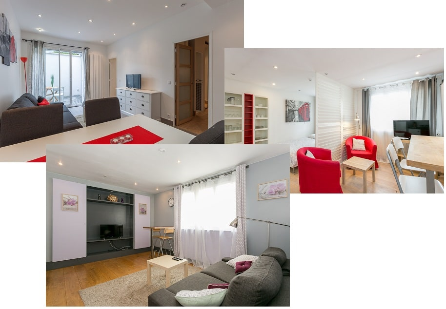 Aparthotel - Residence Service - Airbnb - Furnished studios and apartments - Clamart - Paris - Velizy - Issy-Les-Moulineaux - Boulogne Billancourt - Malakoff - Versailles